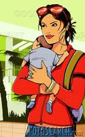 Joven-madre-proceso-de-llevar-bebe-1-3-months-~-200024972-001
